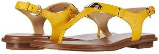 MICHAEL Michael Kors MK Plate Thong (Sunflower) Women's Sandals