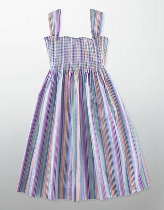 Ralph Lauren Tweens 7-16 Striped Empire-Waist Dress