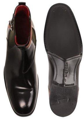 Alexander McQueen Buckle Ankle Boot