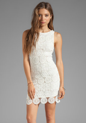 Sanctuary Modern Nomad Lace Shift Dress