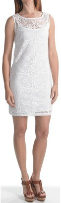 Laundry by Design Crochet Lace Sheath Dress - Sleeveless (For Women)