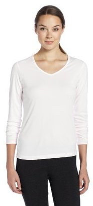 Cuddl Duds Women's Climatesmart Long Sleeve V-Neck