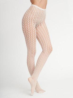 American Apparel Crescent Pattern Fishnet