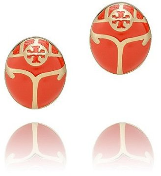 Tory Burch Winslow Beetle Stud Earring