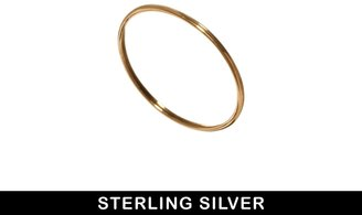 Asos Gold Plated Sterling Silver Fine Ring
