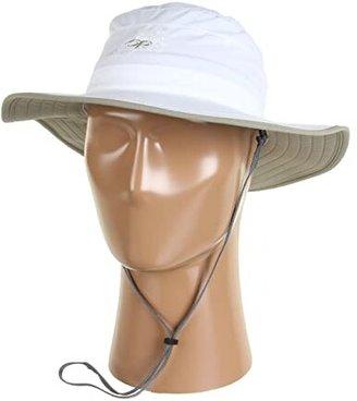 Outdoor Research Solar Roller Hat (Khaki/Dark Grey) Caps