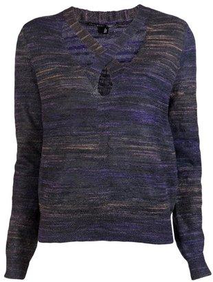 Theyskens' Theory X Neck Sweater