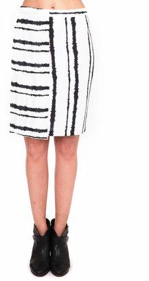 A.L.C. Walsh Skirt Bleed Stripe