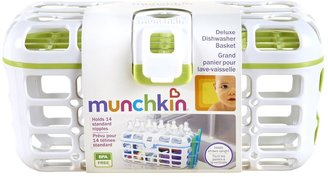 Munchkin Deluxe Dishwasher Basket - Boy Colors