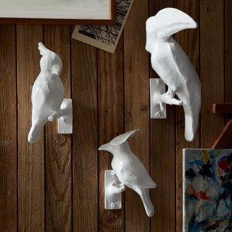 west elm Papier-Mâché Animal Sculptures - Birds
