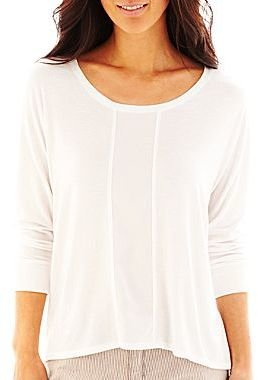 Liz Claiborne V-Neck Dolman-Sleeve Top