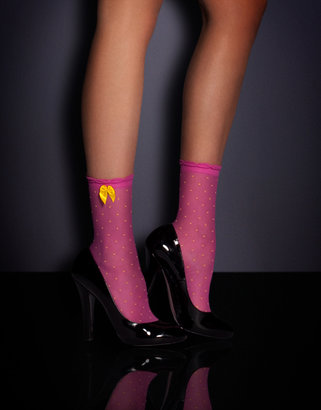 Agent Provocateur Spot Ankle Socks