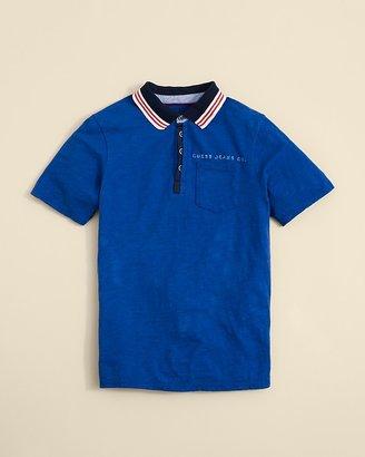 GUESS Boys' Stripe Collar Polo - Sizes S-XL