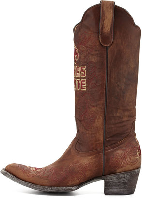 Gameday Boot Company Texas State Tall Gameday Boots, Brass