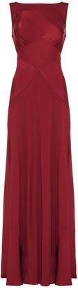 Ghost Chelsea Chiffon Tie Long Dress