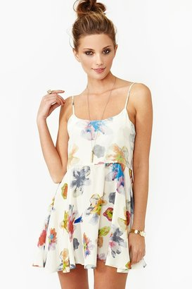 Nasty Gal Cannes Floral Dress