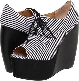 Penny Loves Kenny Niley (Black/White Stripe) - Footwear
