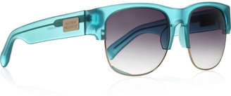 Matthew Williamson Linda Farrow for D-frame acetate sunglasses