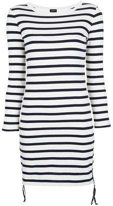 Joseph striped tunic dress
