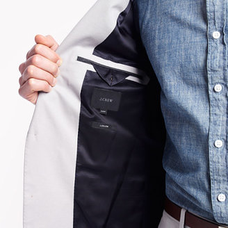 J.Crew Ludlow suit jacket with center vent in Italian chino