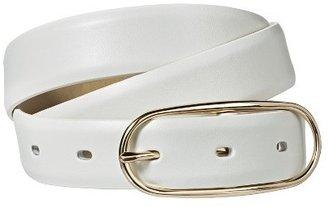 Merona Solid Belt - White