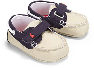 Ralph Lauren Infant's Canvas Boat Shoes