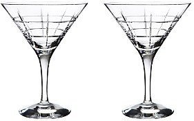 Orrefors Street Martini Pair