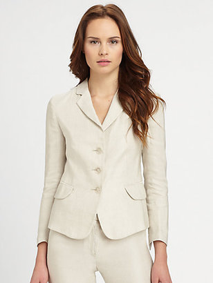 Armani Collezioni Three-Button Jacket