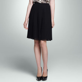 Jones New York Pleated Mid Length Skirt