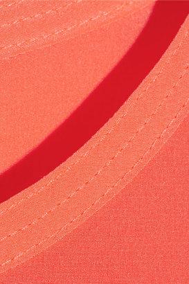 DKNY Stretch-silk crepe de chine top