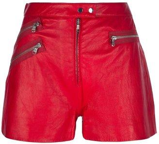 3.1 Phillip Lim zipped biker shorts