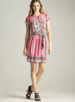 Laundry by Shelli Segal printed Flutter Sleeve Dress