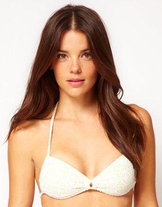 Roxy In The Heart Regular Bikini Top