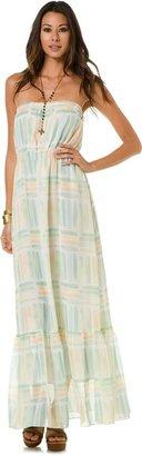 Quiksilver Coastal Splash Maxi Dress
