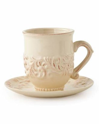 GG Collection G G Collection Cups & Saucers, Set of 4
