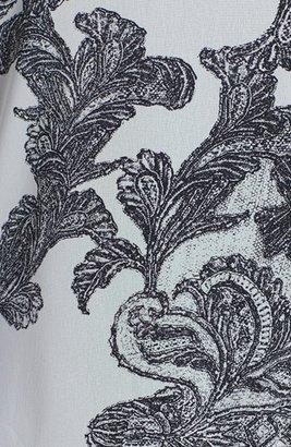 Kenneth Cole New York 'Vonni' Lace Print Blouse (Petite)