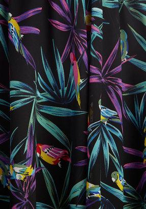 Bettie Page Singin' in the Rainforest Skirt