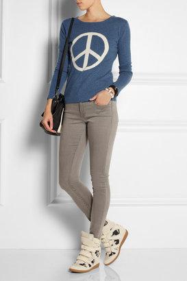 Banjo & Matilda Peace-intarsia cashmere sweater