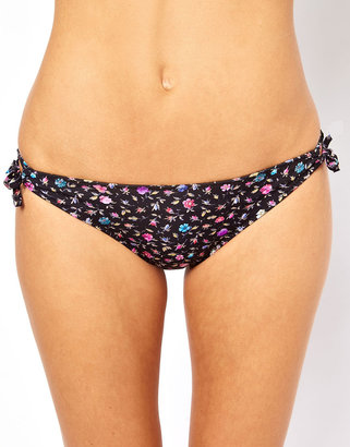 Paul Smith Floral Print Ring Hipster Bikini Pant