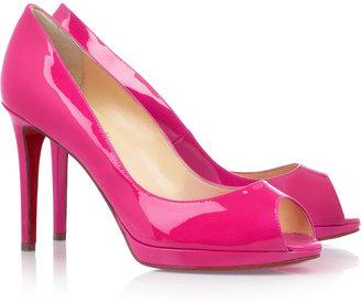 Christian Louboutin Yolanda 100 patent-leather pumps