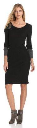 Velvet by Graham & Spencer Women's Dual Sweater Knit Long Sleeve Dress