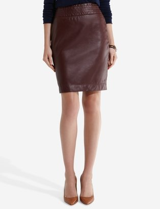 The Limited Faux Leather Pencil Skirt