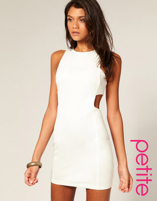 Asos Cut Out Shift Dress