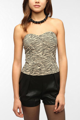 Urban Outfitters Lucca Couture Sweetheart Bustier Top