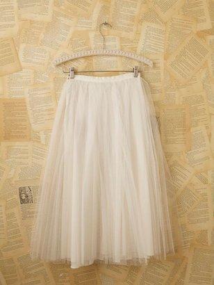 Free People Vintage Net Skirt