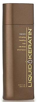 Liquid Keratin De-Frizz Shampoo
