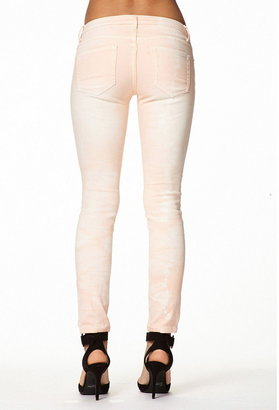 Forever 21 Distressed Colored Skinny Jeans