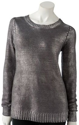 Rock & Republic foil sweater