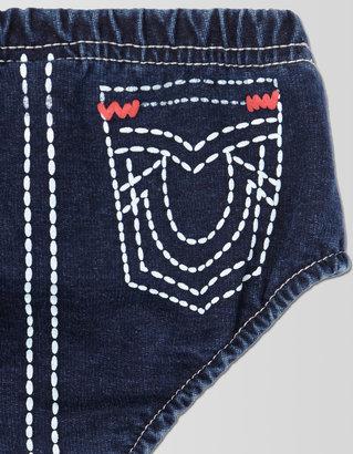 True Religion Big T Stitch Diaper Cover