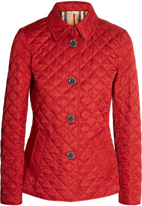 Burberry Quilted Matte Shell Jacket